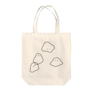 ほわ Tote bags