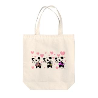 可愛いパンダ Tote bags