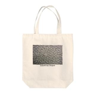 Industrial People Tote bags