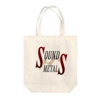 SOUNDMETALS Tote bags
