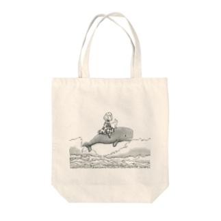 空中遊泳 Tote bags