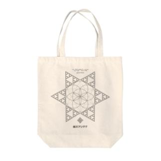 JOMON ANTENNA(片面) Tote bags