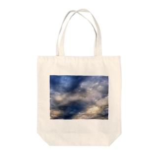 荒れる空 DATA_P_143 sky Tote bags