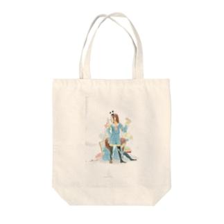 Clown Tote bags