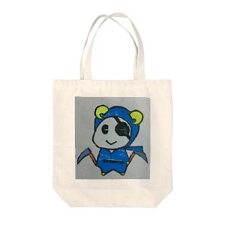 ひつじにん Tote bags