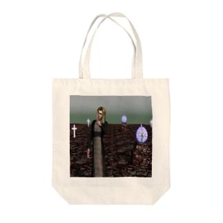 闇夜 Tote bags