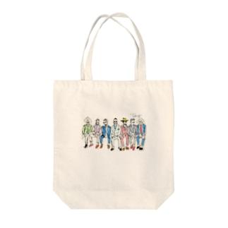 イタリアの男たち Tote bags