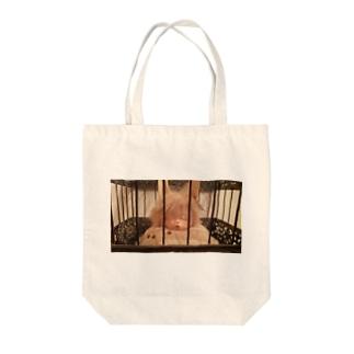 遠くのうさぎ Tote bags
