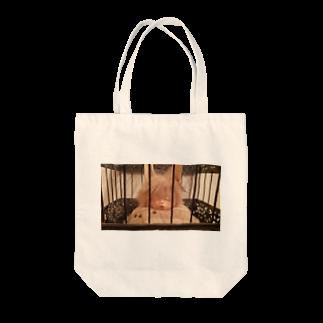 39 近未来の遠くのうさぎ Tote bags