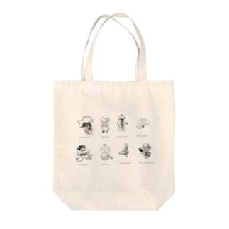 美大クラゲ Tote bags