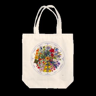 リンネの花時計 トートバッグ