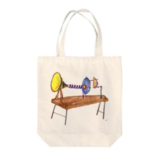 音で時を刻む装置 Tote bags