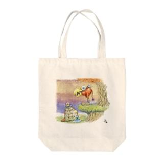 アリサちゃん Tote bags