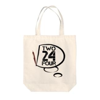 D24 LOGO Tote bags