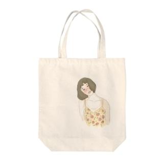 花粉少女 Tote bags