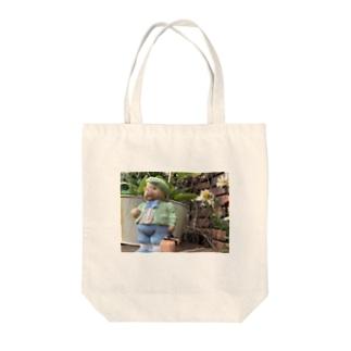 旅くま Tote bags