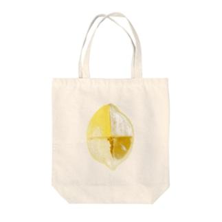 レモン解体新書 Tote bags