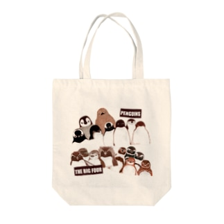 PENGUINS THE BIG FOUR LIVE! Tote bags