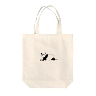 やさしいパンダ Tote bags