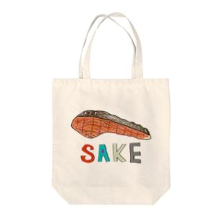 SAKE Tote bags