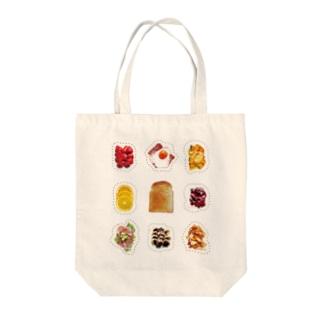 きせかえトースト Tote bags