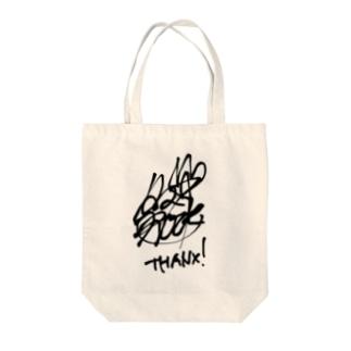 タマ⭐︎ロック サイン Tote bags