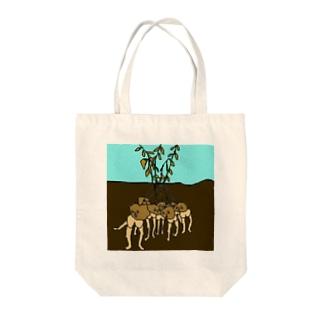 ジャガイモたち Tote bags
