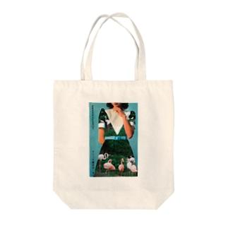 flamingodress Tote Bag