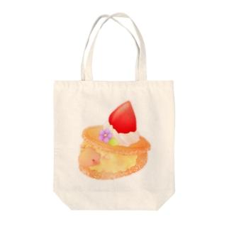 ひつじのクッキーはさみ Tote bags