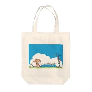 夏まで使えるトートバッグ Tote Bag
