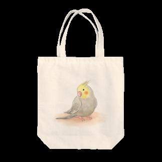 まめるりはことりのオカメインコ シナモン【まめるりはことり】 Tote bags