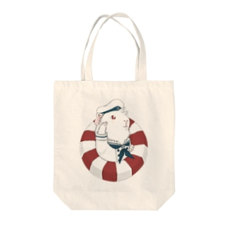 水兵モルモット Tote Bag