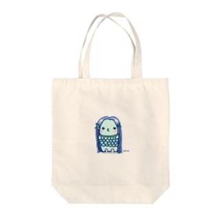 アマビエサマ Tote bags