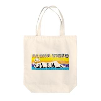 ALOHA VIBES Tote bags