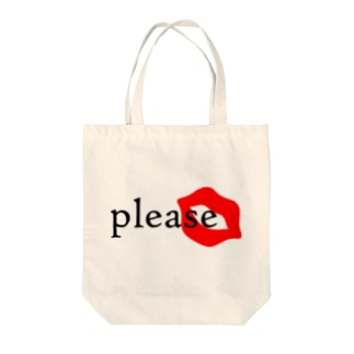 please Tote bags