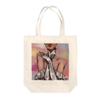 華 Tote bags