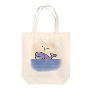 みなみくじら Tote bags