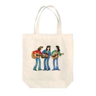 フォークトリオ Tote bags