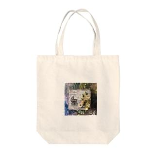 ベビーカーと紫陽花 Tote bags