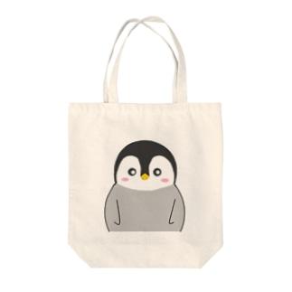 ペンギン赤ちゃん Tote bags