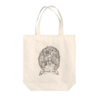 マメンスク物語(表紙画) Tote bags