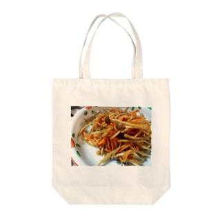 きんぴら Tote bags