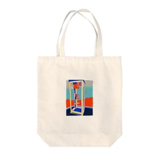 無線 Tote bags