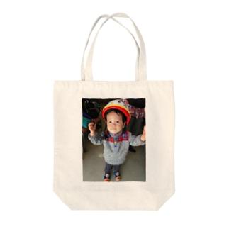 ゆうちゃん1歳8ヵ月 Tote bags