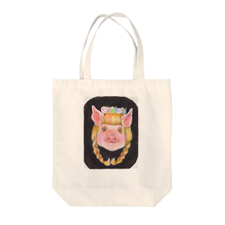 yummy.toy boxの彼女の名前はシャーロットでした。 Tote bags