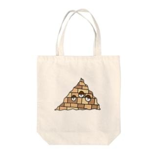 ぬるいのピパネズミ Tote bags