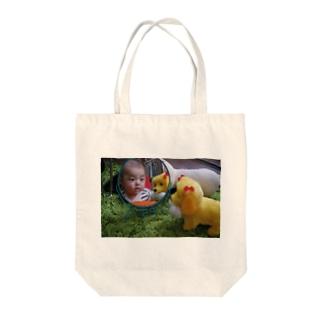 あきちゃんとART Tote bags