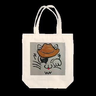 IORIのウエスにゃん Tote bags