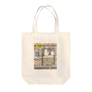 カフェ風クリップボード(イラストタイプ) Tote bags