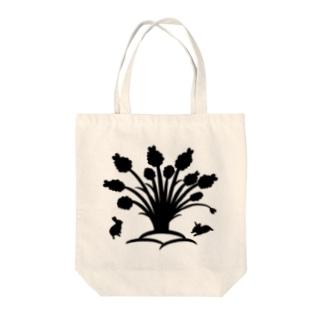 白黒木兎f Tote bags
